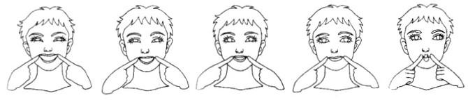 笑顔の作り方5